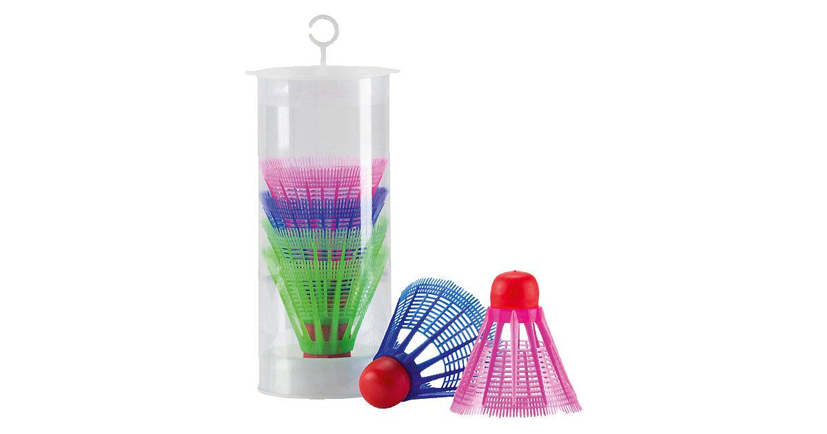 Tecnopro Badminton Bälle 6 Stk. mehrfarbig