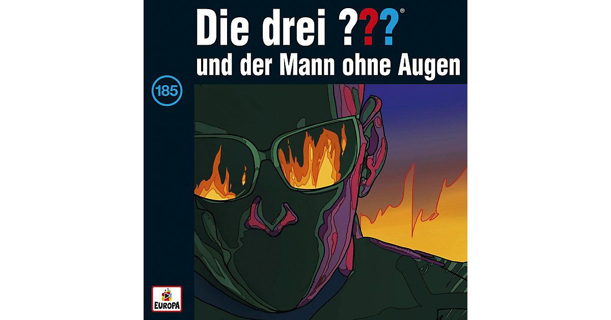 CD Die Drei ??? 185 - und der Mann ohne Augen Hörbuch