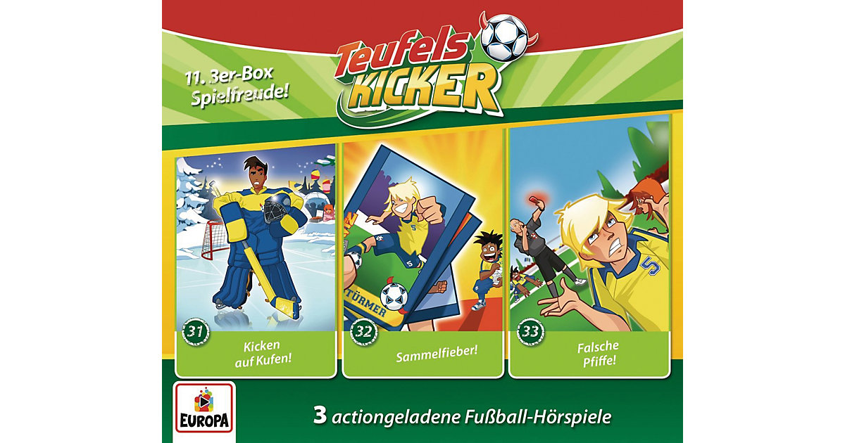 Sony · CD Teufelskicker 11 - 3er Box (Folgen 31,32,33)