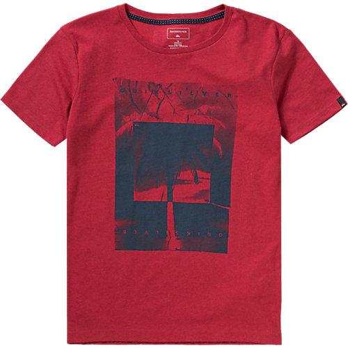 QUIKSILVER T-Shirt HEATHER Gr. 176 Jungen Kinder Sale Angebote Werben