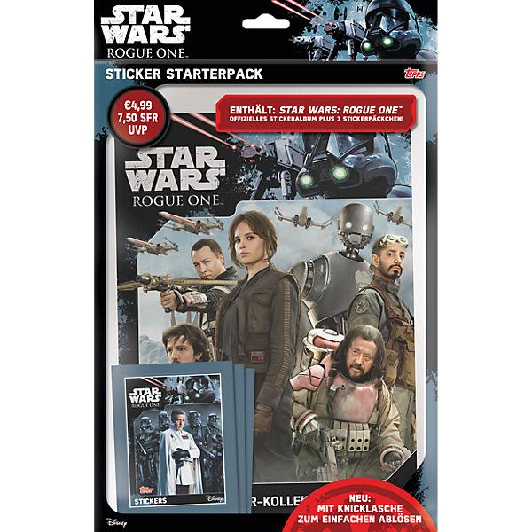 Topps Sammelsticker Star Wars Rogue One Starterpack Star Wars