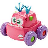 Машинка для малышей Fisher-Price «Девочка», Розовый монстрик