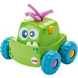 Машинка для малышей Fisher-Price «Мальчик: Зеленый монстрик»