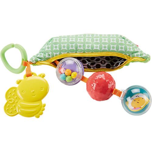 """Плюшевая игрушка-погремушка """"Горошек"""", Fisher Price от Mattel"""