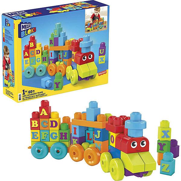Mega Bloks ABC Lernzug, MEGA BLOKS