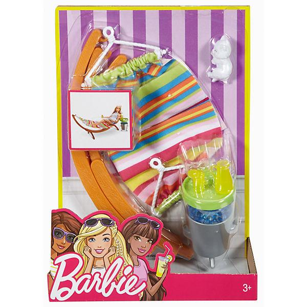 barbie m bel au enbereich h ngematte set barbie mytoys. Black Bedroom Furniture Sets. Home Design Ideas