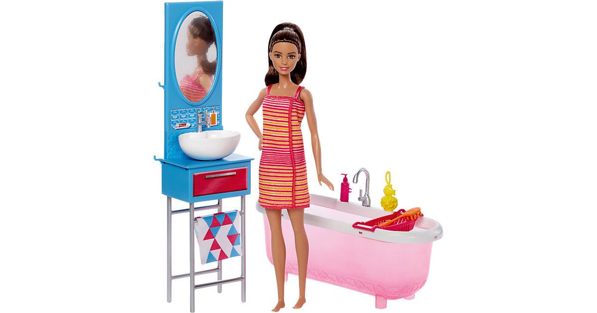 Vorschaubild von Barbie Möbel Badezimmer & Puppe