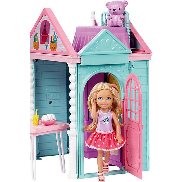 barbie club chelsea spielhaus barbie mytoys. Black Bedroom Furniture Sets. Home Design Ideas