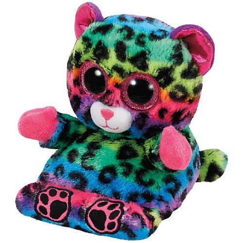 Ty Peek-A-Boo Leopard Lance bunt 15cm, Handyhalter