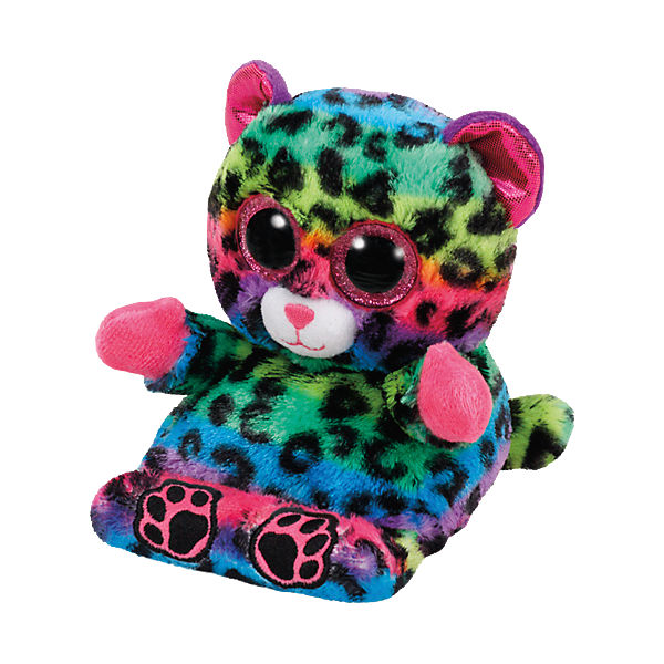 Peek-A-Boo Leopard Lance bunt 15cm, Handyhalter, Ty