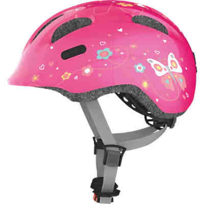 Fahrradhelm Smiley 2.0, pink butterfly