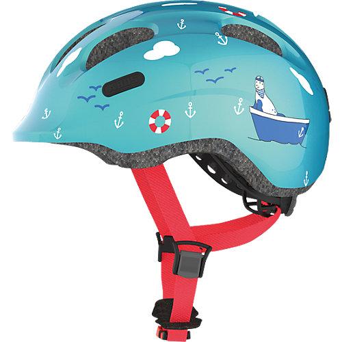 ABUS Fahrradhelm Smiley 2.0, turquoise sailor Gr. 50-55