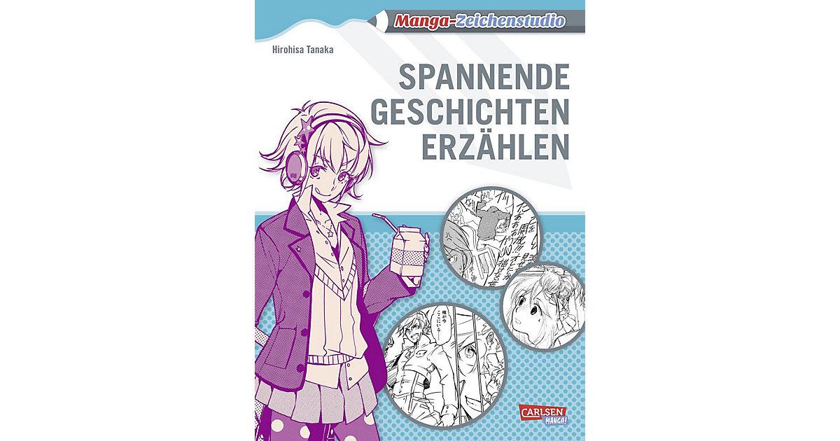 Carlsen · Manga-Zeichenstudio: Spannende Geschichten erzählen