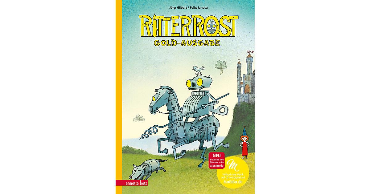 Carlsen · Ritter Rost - Goldausgabe, mit Audio-CD