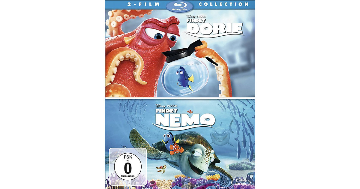 BLU-RAY Disney's Findet Dorie & Findet Nemo - Doppelpack Hörbuch