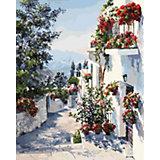 Картина по номерам  Белоснежка «На юге Испании», 40х50 см