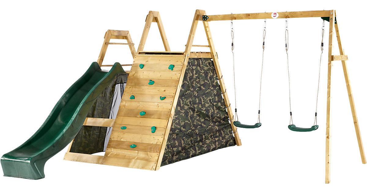 plum · plum® Kletter Pyramide mit Doppelschaukel