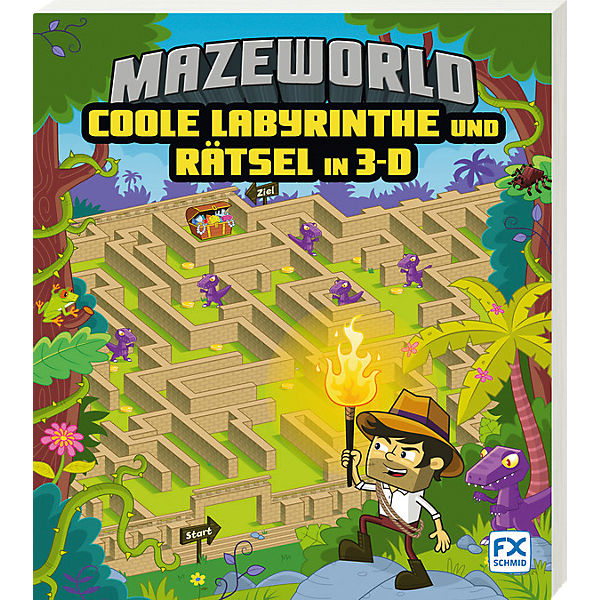Mazeworld: Coole Labyrinthe und Rätsel in 3-D