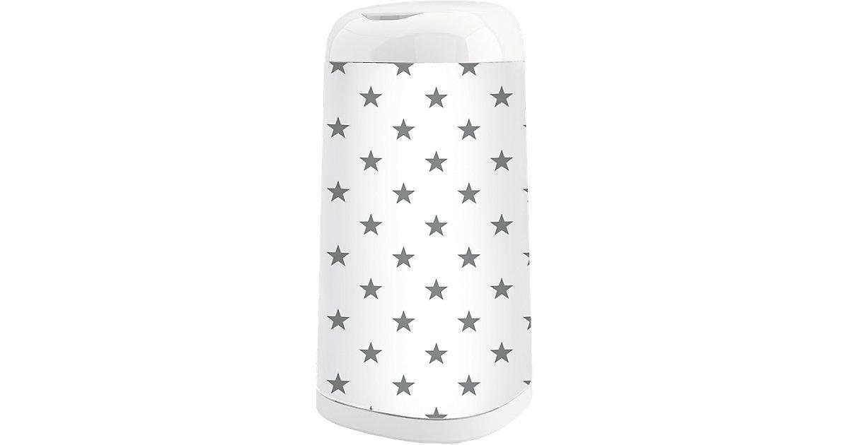 Angelcare · Angelcare Windeleimer Dress-Up mit Bezug, Grey Stars