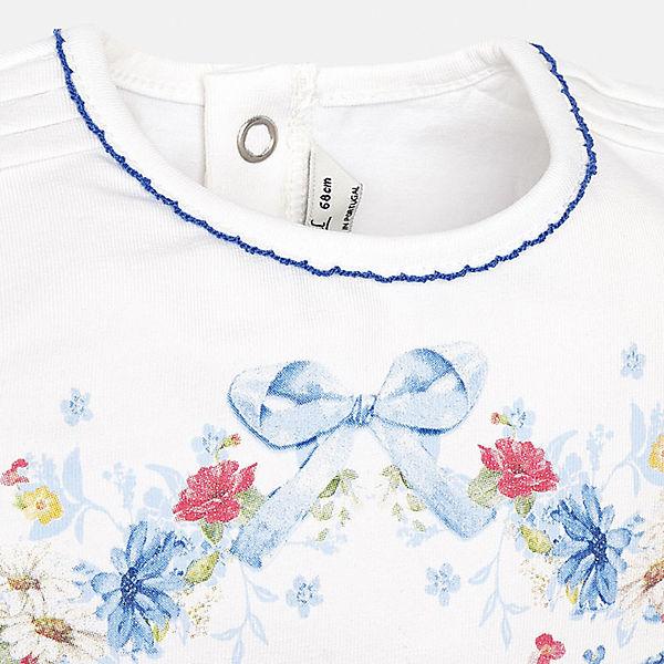 Комплект: футболка и шорты Mayoral для девочки