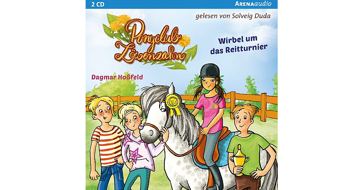 Ponyclub Löwenzahn: Wirbel um das Reitturnier, ...
