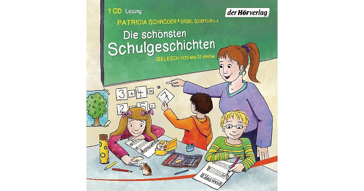 Die schönsten Schulgeschichten, 1 Audio-CD