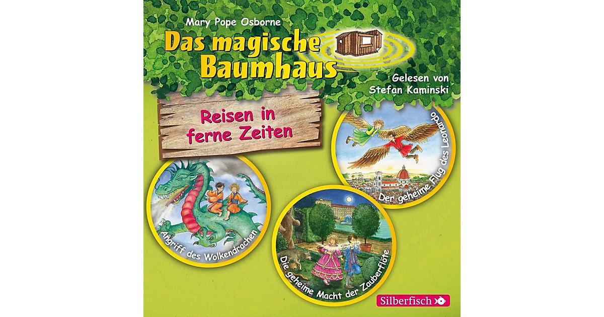 Das magische Baumhaus: Reisen in ferne Zeiten. Die Hörbuchbox, 3 Audio-CDs Hörbuch