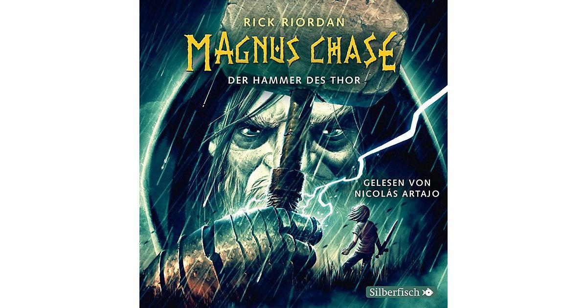 Carlsen · Magnus Chase: Der Hammer des Thor, 6 Audio-CDs