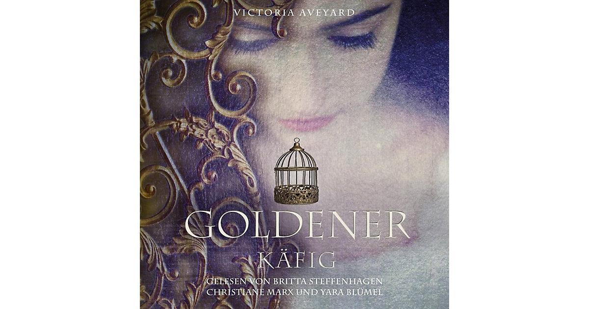 Carlsen · Die Farben des Blutes: Goldener Käfig, 2 MP3-CD