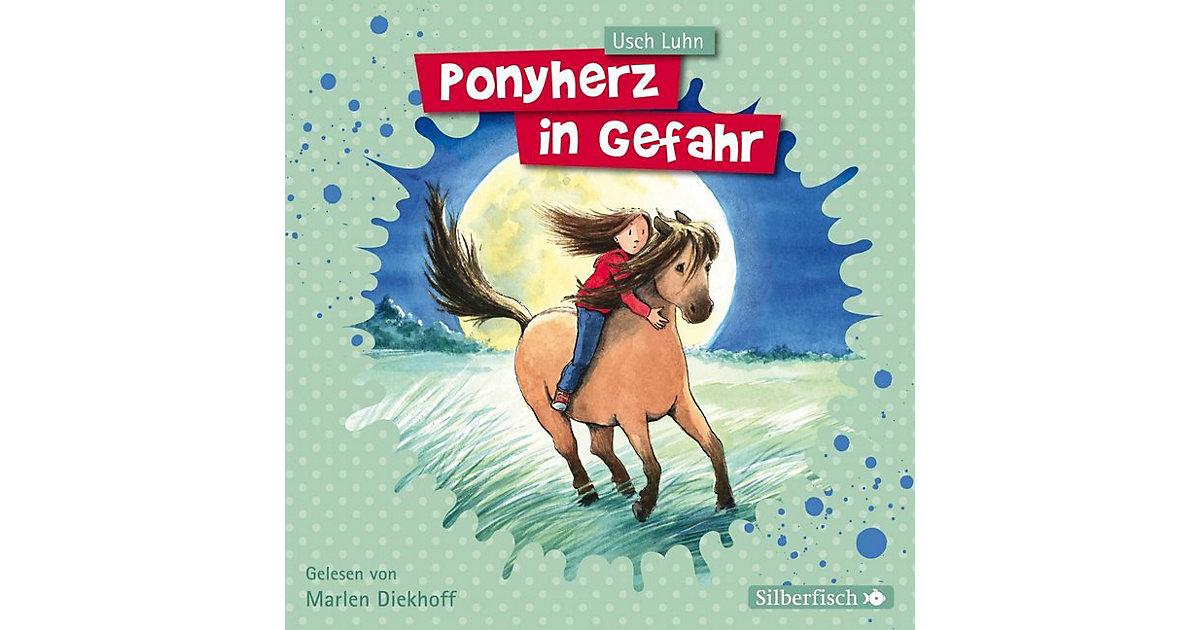Ponyherz in Gefahr, 1 Audio-CD Hörbuch