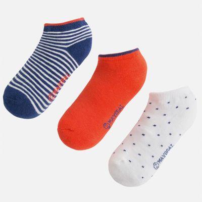 Носки (3 пары) для мальчика Mayoral - разноцветный