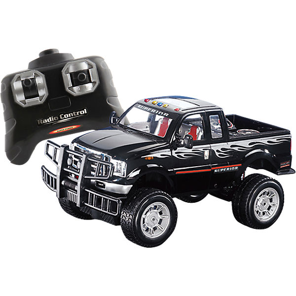 RC Racer Off Road Jeep, 27 MHz, The Toy Company