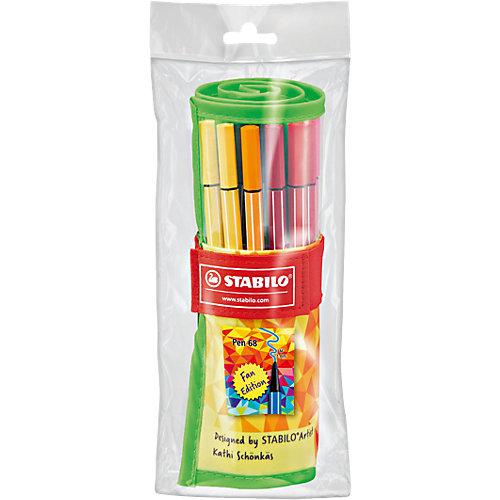 """Фломастеры Stabilo """"Pen fan"""", 25 цветов от STABILO"""