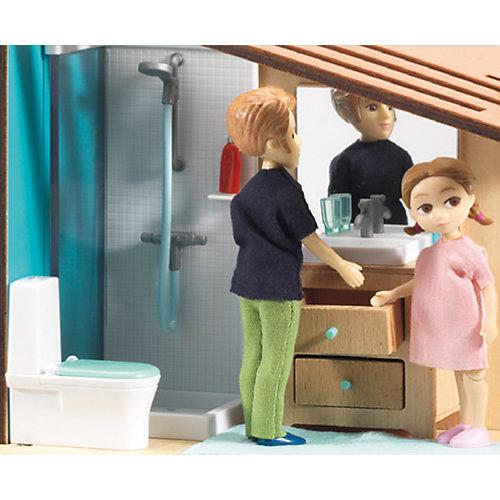 Современный дом для кукол, DJECO от DJECO
