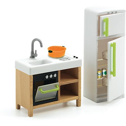 Мебель для кукольного дома, Кухня, DJECO от DJECO