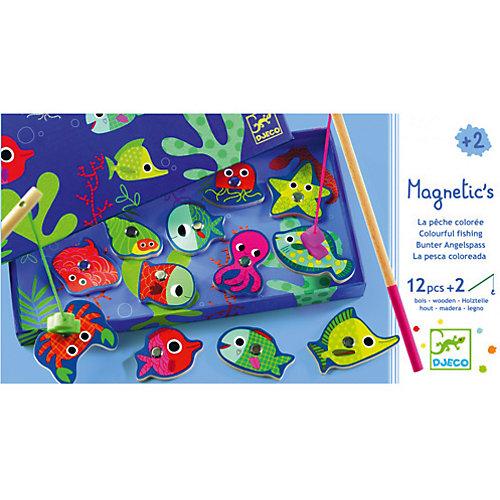 Магнитная игра рыбалка Цвета, DJECO от DJECO