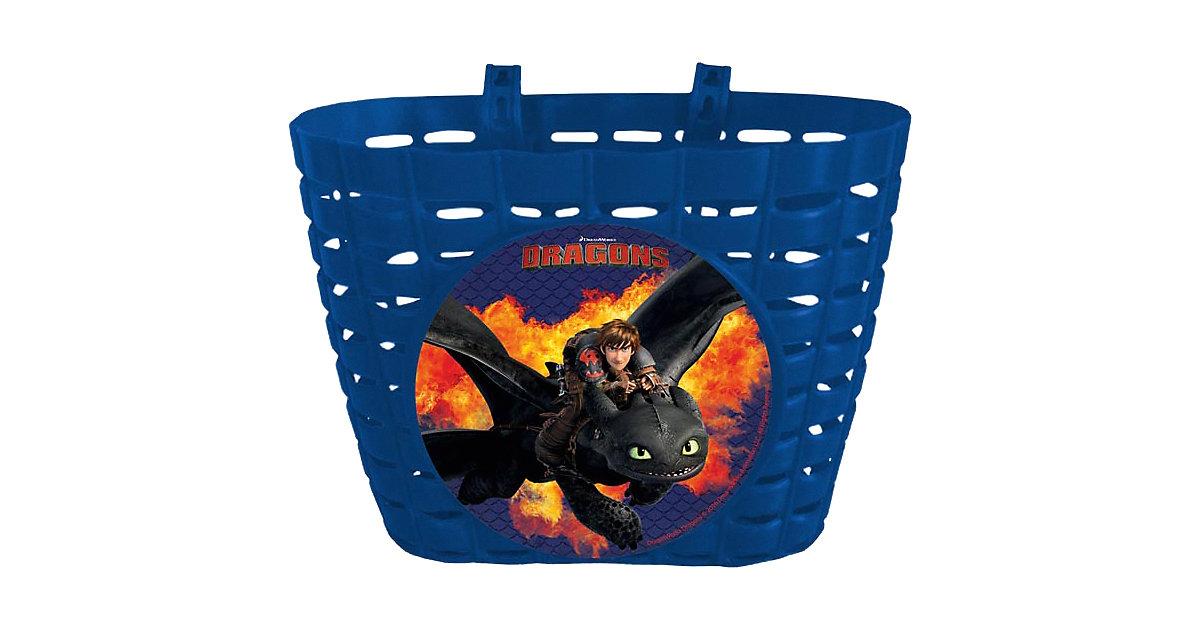 Dragons Fahrradkorb schwarz
