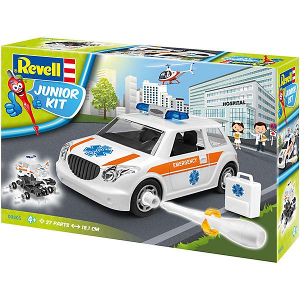 Revell Junior Kit - Notarzt, Revell Modellbausätze Junior Kit