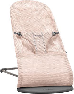 Кресло-шезлонг BabyBjorn Bliss Mesh Limited edition нежно розовый