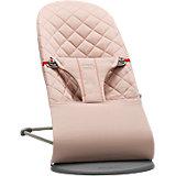 Кресло-шезлонг BabyBjorn Bliss Cotton Limited edition розовый