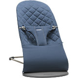 Кресло-шезлонг BabyBjorn Bliss Cotton синий