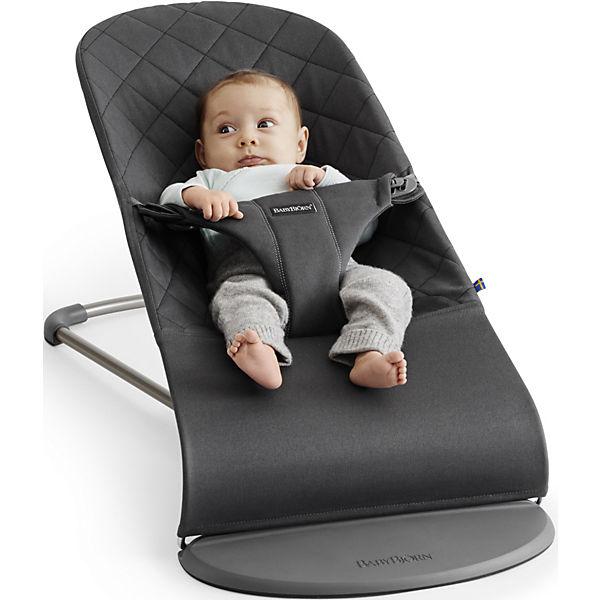 Кресло-шезлонг BabyBjorn Bliss Cotton песочный