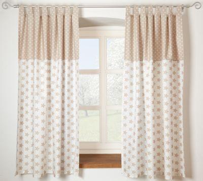 Vorhang Für Kinderzimmer | Gardinen Set Wolke Voile Grau Je 130 X 150 Cm 2 Schals Alvi