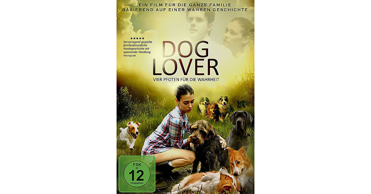 DVD Dog Lover - Vier Pfoten die Wahrheit Kinder