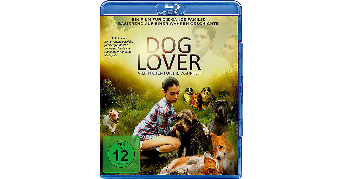 BLU-RAY Dog Lover - Vier Pfoten die Wahrheit Ki...