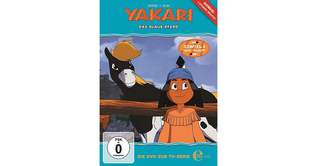 DVD Yakari 27 - Das Blaue Pferd