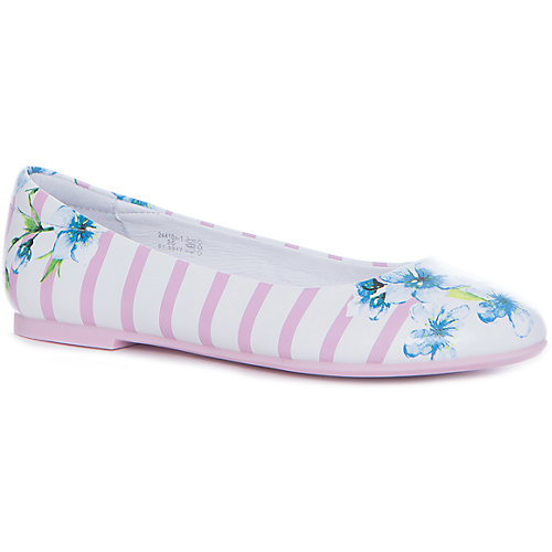 Балетки Kapika - розовый/белый от Kapika