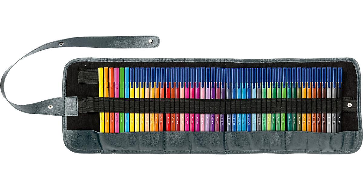 Filzstifte triplus color Stifterolle, 48 Farben