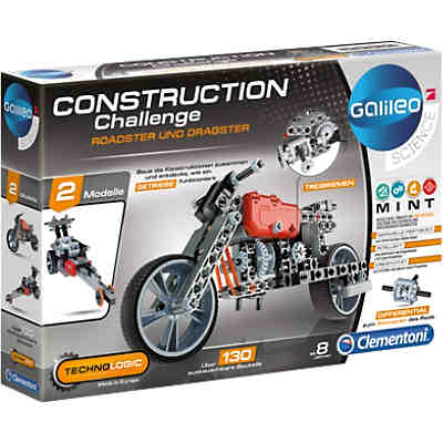 Galileo - Construction Challenge - Roadster und Dragster