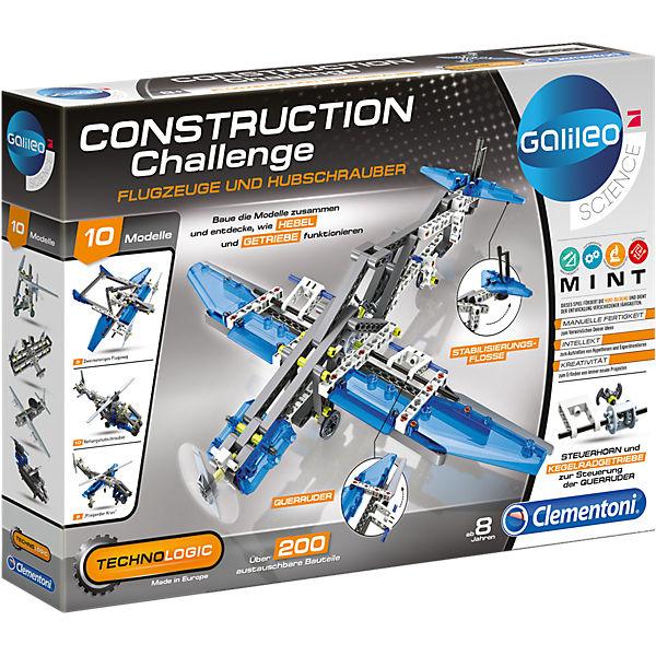 Galileo - Construction Challenge - Flugzeuge und Hubschrauber, Galileo